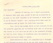 Letter: Henry Harris Groff to Naomi Harris June 11 1926