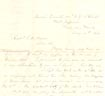 Letter: Charles Mitchell to Capt. J.B. Harris May 14th 1864