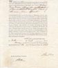 Document: Marriage Licence - William Henry Draper & Augusta White January 10 1826