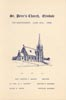 Program: St. Peter's Church, Erindale 125th Anniversary, June 18th, 1950