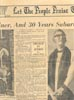 Newspaper Clipping: His Outpost Now Centre of Homes: Soldier, Miner, and 30 Years Suburban Parson