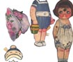 "Paper Doll and Clothes ""Betsy"""