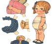 Paper Doll and Clothes 'Sue'