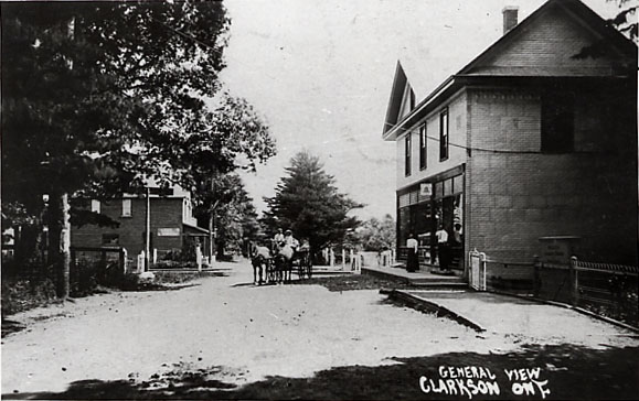 Alex Durie's Store and the Edith Clarkson Store, Clarkson