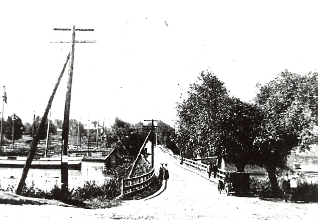 Bridge over the Credit River, Port Credit