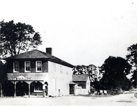 George McClelland Store, Cooksville
