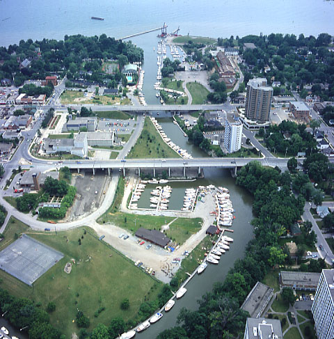 Oakville Harbour Aerial View