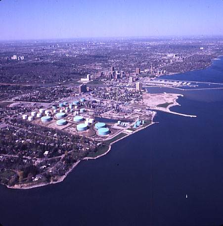 Port Credit, Aerial View