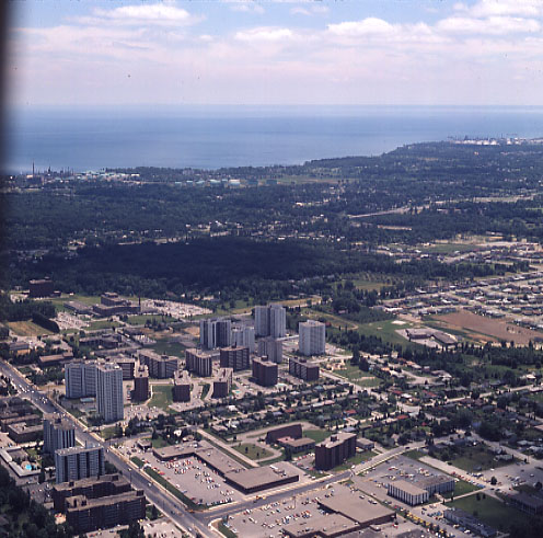 Cooksville, Aerial View