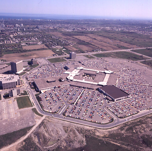 Square One Shopping Centre, Aerial View