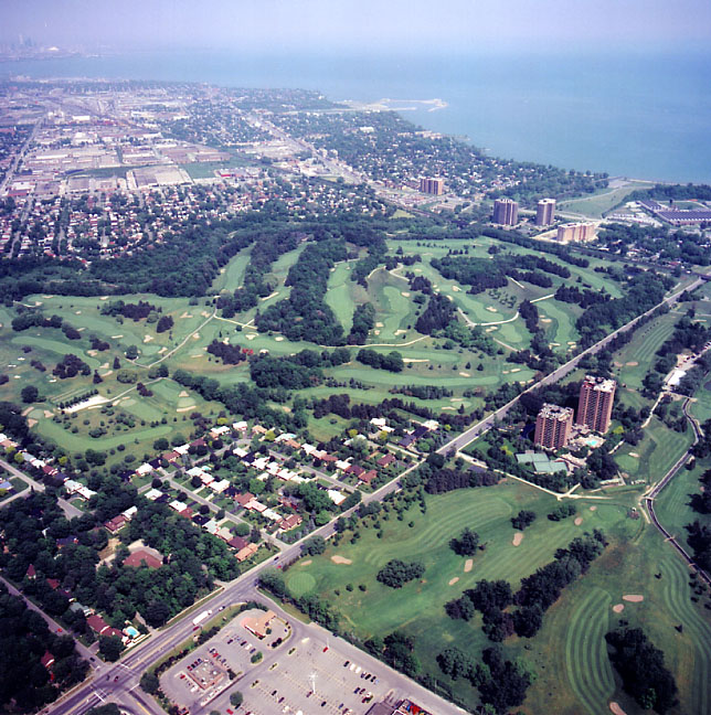 Toronto Golf Club, Aerial View