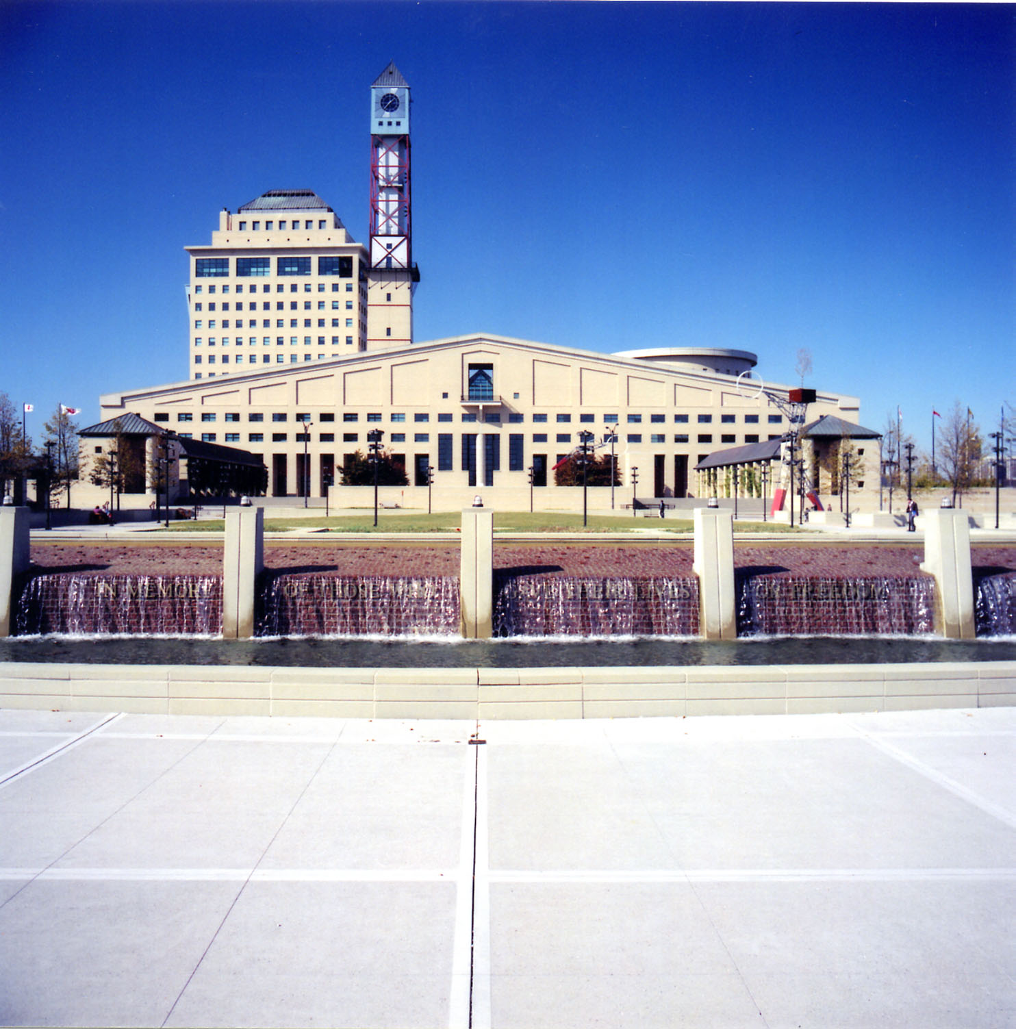 Mississauga Civic Centre and Peace Memorial