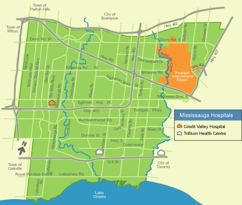 Map Of Mississauga Mississauga.ca   Services Online   Community Maps