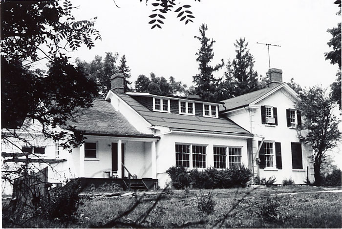 McClure House, South Façade, Meadowvale