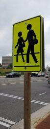 Image of school crossing sign