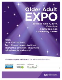 Older Adult Expo poster
