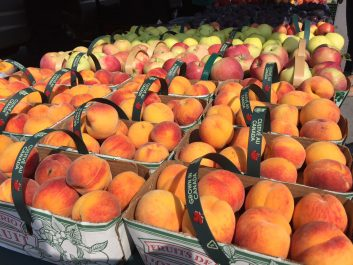 Peaches at Farmer's Market