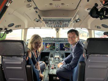 Mayor Bonnie Crombie and Mayor Jeff Lehman