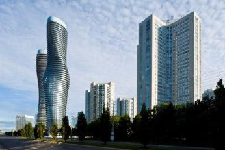 Mississauga Skyline with Absolute Towers