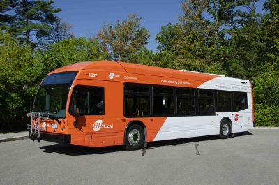 MiWay hybrid bus