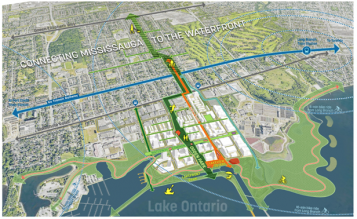 map of lakeview waterfront development