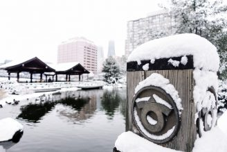 Mississauga Kariya Park in winter