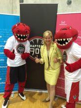 Mississauga Mayor Bonnie Crombie celebrates new NBA D-League team