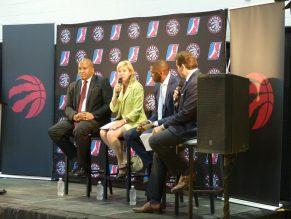 Mayor welcoming NBA D-League