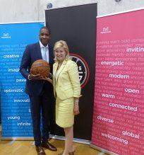 Mayor welcomes NBA D-League
