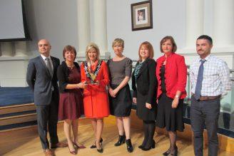 Mayor and Brand Team win Transform Award