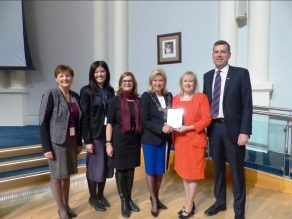 United Way Presentation with Mayor & CFO