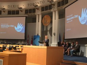 Mayor Crombie Welcomes Newcomers