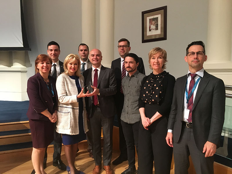 Mississauga Wins Brand Award