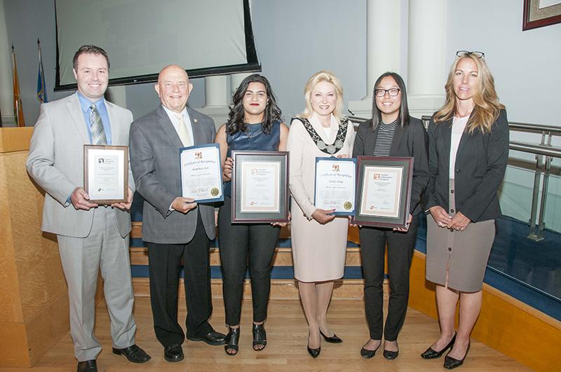 MiWay Student Ambassador Program winners