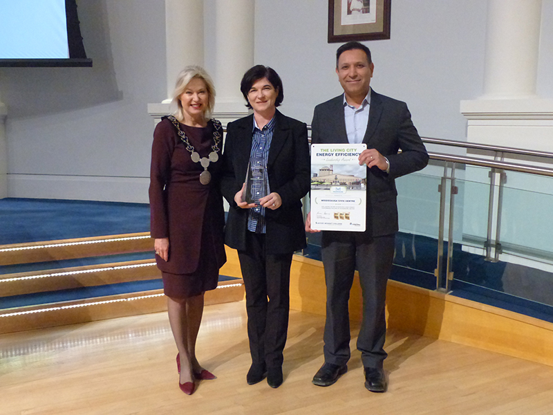 Energy in Action Innovation Award and the Living City Energy Efficiency Gold Award