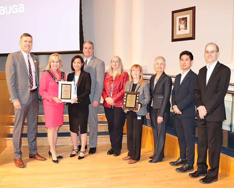 City of Mississauga was awarded for its 2017 Financial Report and 2017 Financial Report Highlights from the GFOA.