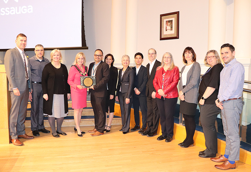 City of Mississauga was awarded for its 2018 to 2021 Business Plan and 2018 Budget document from the GFOA.