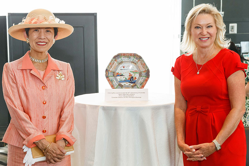 Mayor Crombie and Her Imperial Highness Princess Takamado