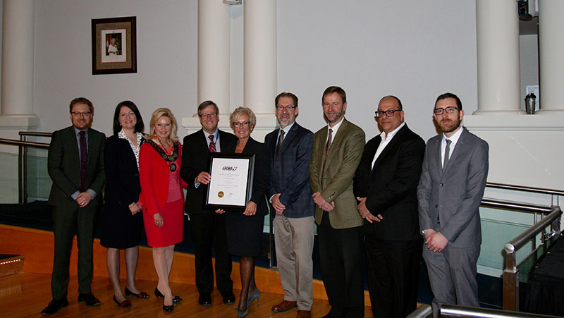 City receives technical Innovation Award - Basement Water Infiltration Project
