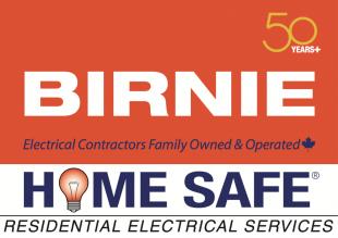 Birnie Home Safe logo
