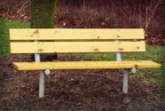 Standard wooden bench