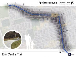 Map of Erin Centre Trail