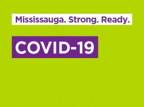 Mississauga. Strong. Ready. COVID-19.