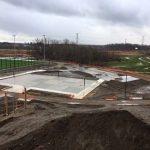 Outdoor field progress