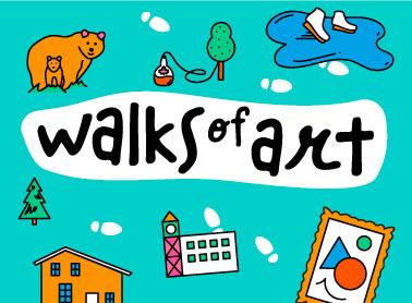Walks of Art logo