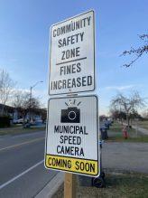 ASE advance notice signage
