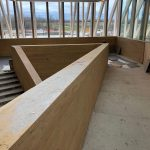 Churchill Meadows Community Centre stairs