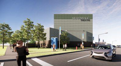 Rendering of Meadowvale Theatre Renovation (Exterior)