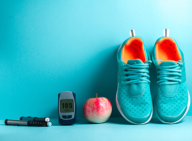 apple and shoes