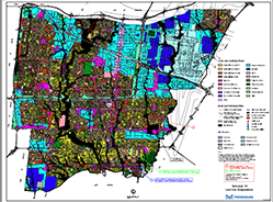 Map of land use designations